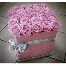 Коробка счастья 25 роз